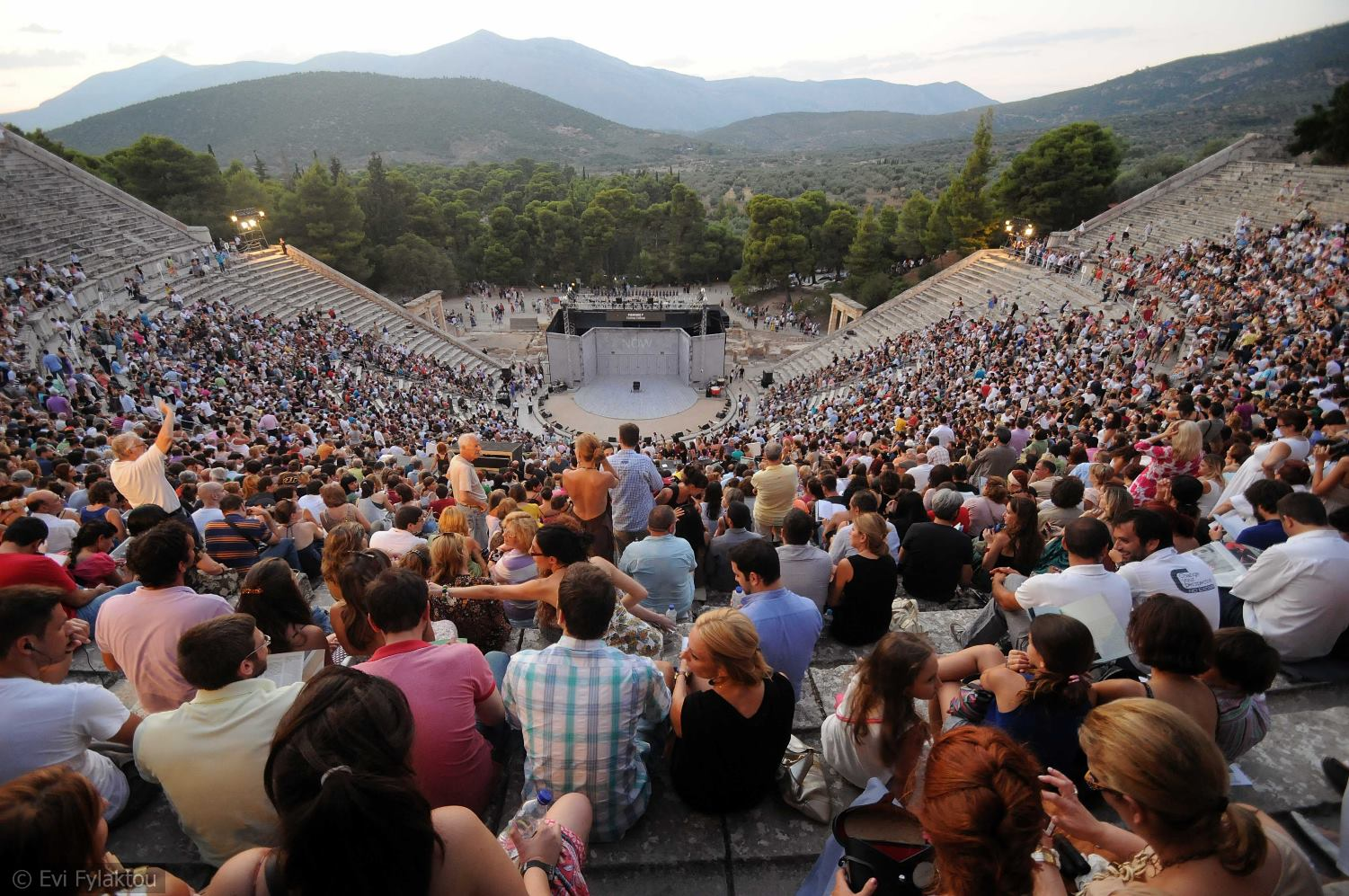 International artists at the ancient theatre of Epidaurus | Guest Bloggers