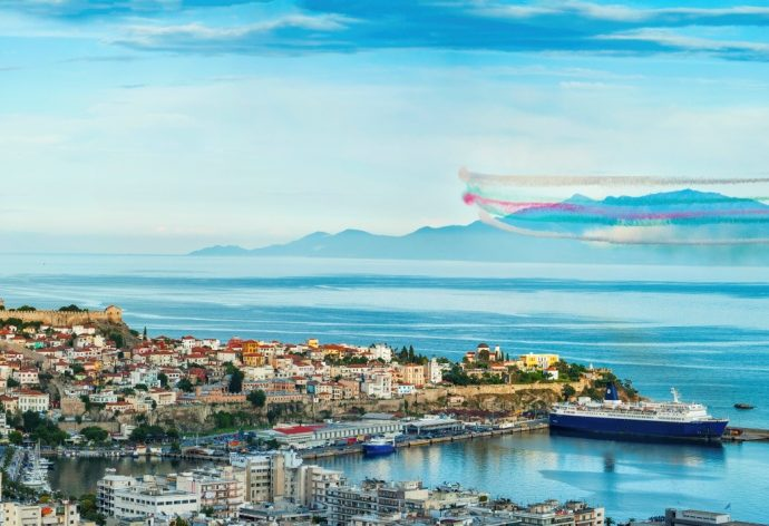 "Kavala Air/Sea Show: ""We raise our heads up!"" 