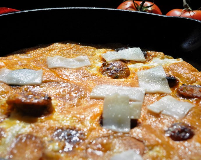 Frutalia Omelette from Andros Island | Guest Bloggers